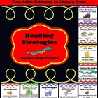 Reading Strategies Charts/Posters (Beanie Baby)