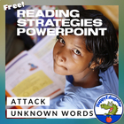 Reading Strategies - How to Attack Unknown Words PowerPoint