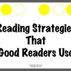 Reading Strategies Poster Set