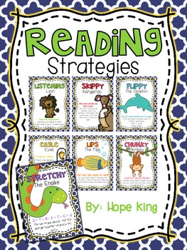 Reading Strategies {Posters}