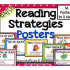 Reading Strategies Posters- Spanish