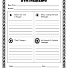 Reading Strategies - Synthesizing