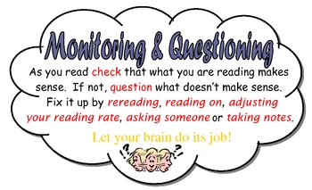 Reading Strategies and Skills Mini Posters