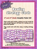 Reading Strategy Cards - 1&2  Grade Cupcake Sweetness!