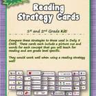 Reading Strategy Cards - 1&2 Grades Its a Hoot Owl Theme