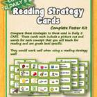 Reading Strategy Cards - Emergent Reader (Kinder)