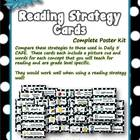Reading Strategy Cards - Kindergarten  Polka Dot Theme