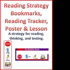Reading Strategy Lesson Plan, Bookmarks, Reading Trackers