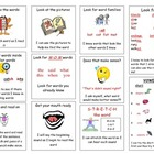 Reading Strategy Poster for reading folders 1st and 2nd