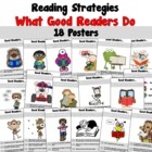 Reading Strategy Posters (2nd-5th)