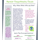 Reading Strategy Questioning Newsletter/Info