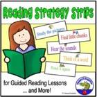 Reading Strategy Strips - How to Think When You Read