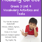 Reading Street Vocabulary  Unit 4 Grade 3