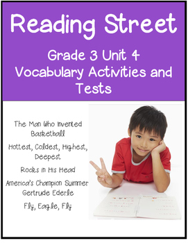 Reading Street 2011 Grade 3 Unit 4 Vocabulary