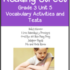 Reading Street Vocabulary Unit 5 Grade 3