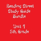 Reading Street 5th Grade Unit 4 Reading Study Guide Bundle
