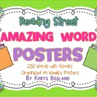 Reading Street Amazing Words - Kindergarten {Weekly Poster