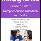 Reading Street Comprehension Unit 3 Grade 3