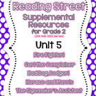 Reading Street - Grade 2 Supplemental Resources - Unit 5