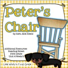 "Reading Street ""Peter's Chair"" Additional Resources"