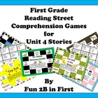 Reading Street Reading Comprehension Games- Unit 4