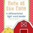 Reading Street Sight Word Reader Freebie!