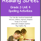 Reading Street Spelling Unit 4