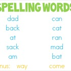 Reading Street Unit 1 Decodable Spelling Powerpoints