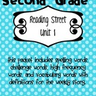 Reading Street Vocabulary Unit 1