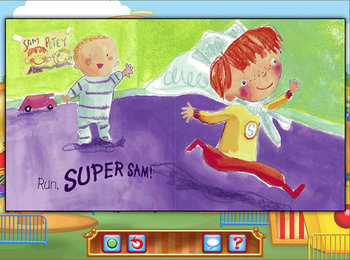 Reading - Super Sam
