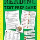 Reading Test Prep Flashcards &amp; Sports Themed Game