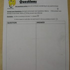 Reading Think-Aloud Individual Strategy Sheets