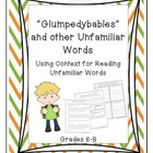 Reading Unfamiliar Words Bundle