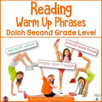 Reading Warm Up Phrases Dolch Second Grade Level
