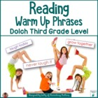 Reading Warm Up Phrases Dolch Third Grade Levels