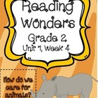 Reading Wonders Resources, Grade 2, Unit 1, Week 4
