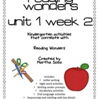 {Reading Wonders: Unit 1, Week 2} Reading Activity Pack