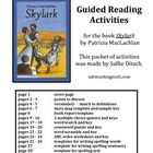 Reading Worksheets for book Skylark by Patricia MacLachlan