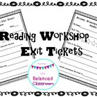 Reading Workshop Exit Ticket