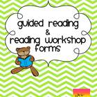 Reading Workshop & Guided Reading {Planning and Recording Forms}