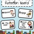 Reading Workshop Rotation Board
