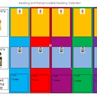 Reading Workshop Weekly Calendar-  Guided Reading Manageme