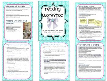 Reading Workshop setup and procedures