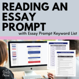 Reading an Essay Prompt Activity