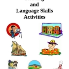 Reading and Language Skills, Activities and Worksheets