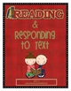 Reading and Responding to Text