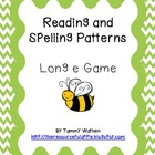 Reading and Spelling Patterns-Long e Game