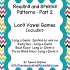 Reading and Spelling Patterns Part 2, Long Vowel Games