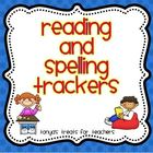 Reading and Spelling Trackers