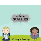 Reading and Writing Scale or Rubric Poster